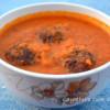 Paneer and Banan Blossom Kofta Curry