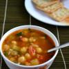 Lebanese Chickpea Soup