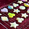 Iced Sugar Cookies (Eggless)