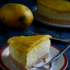 Eggless No Bake Mango Cheese Cake Recipe