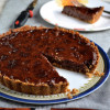 Eggless Nutella Crack Pie