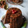 Eggless Christmas Pudding