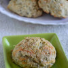 Sour Cream Cheddar Basil Drop Biscuits