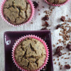 Vegan Flax Seeds Cranberry Muffins