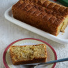 Eggless Banana Bread with Aquafaba