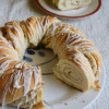 Twisted Cinnamon Coconut Wreath