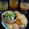 Pani Puri with Three Pani Flavours - Indian Street Food Recipe