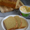 Whole Wheat Pumpkin Sandwich Loaf Recipe - #BreadBakers