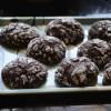 Eggless Chocolate Crinkle Cookies - Easy Cookies