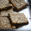 Five Seed Crackers - Easy Paleo Snack Recipe