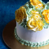 How To Make A Rose Cake With Vegan Whipped Cream