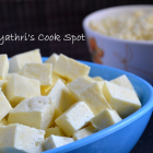 Homemade Cottage Cheese(Paneer)