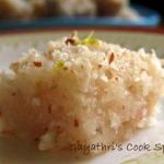 Thengai / Coconut Burfi