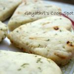 Savory Shortbread Cookies / Iyengar Bakery Khara Biscuits