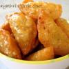 Poosanikkai Inippu Somas / Sweet Samosa with Pumpkin Filling
