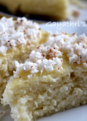 Eggless Bibingka -Filipino Rice Cake