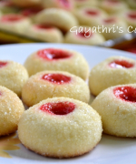 Eggless Thumb Print Cookies