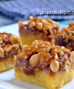 Caramel Peanut Squares