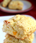 Cheese and Apricot Biscuits/ Scones