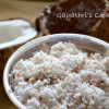 Home Made Grated Coconut