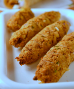Vegetarian Seekh Kebab