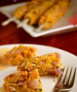 Sweet Corn Tofu Kebab