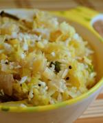 Muttakos/ Cabbage Poriyal