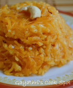 Semiya/ Vermicelli Kesari (With Milk)