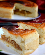 Eggless Coconut Buns (Bakery Style)