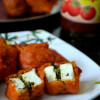 Mint Filled Paneer Pakoda/ Bajji