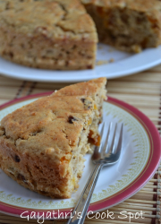 Eggless Butter Milk Fruit Cake
