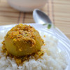Sprouts Stuffed Tinda Curry