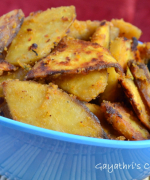 Cheenikilangu / Sweet Potato Varuval