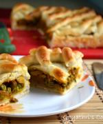 Empanada Gallega - Vegetarian Version