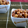Oven Roasted Crunchy Chickpeas