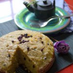 Eggless Butter Cake - Baking Eggless Group Challenge Round Up