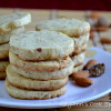 Eggless Almonds Nutmeg Sables