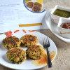 Oats Spinach Paneer Cakes