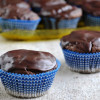 Whole Wheat Devil's Food Cup Cake With Chocolate Frosting