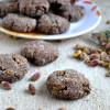 Eggless Chai Pistachio Chocolate Snickerdoodles