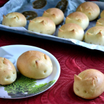 Eggless Bunny Dinner Rolls