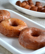 Eggless Krispy Kreme Donuts