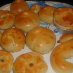 Eggless Dinner Rolls- April Round Up