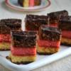 Neapolitan Cookies/ 7 Layer Cookies ( Eggless Version)