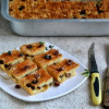 Raisin Shortbread Bars