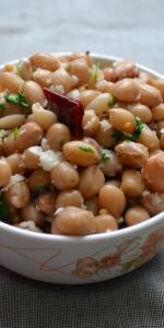 Navarathri - Day 6 - Nilakadalai Paruppu/ Peanuts Sundal