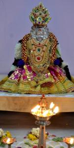 Navarathri - Day 1 - White Channa Sundal and Puttu