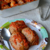 Golubsty / Cabbage Rolls - Vegetarian Version