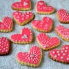 Glaze Icing on Sugar Cookies (with liquid glucose)
