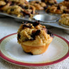 Eggless Chocolate Babka Muffins